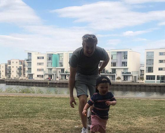 elliot with kid